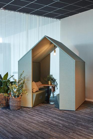 Open Hut / Open Half a Hut de Götessons | Box de bureau