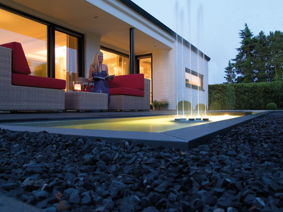 Water Quintet by Oase | Waterspout fountains