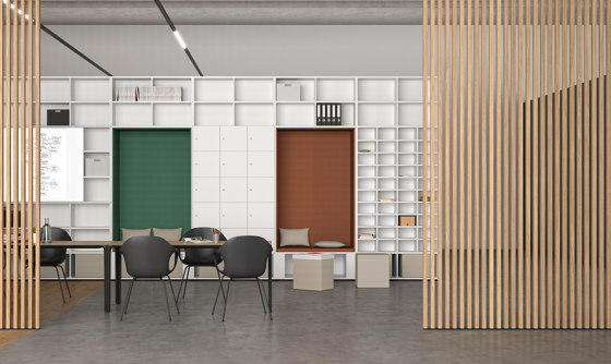 basic S cupboard booths by werner works | Cabinets