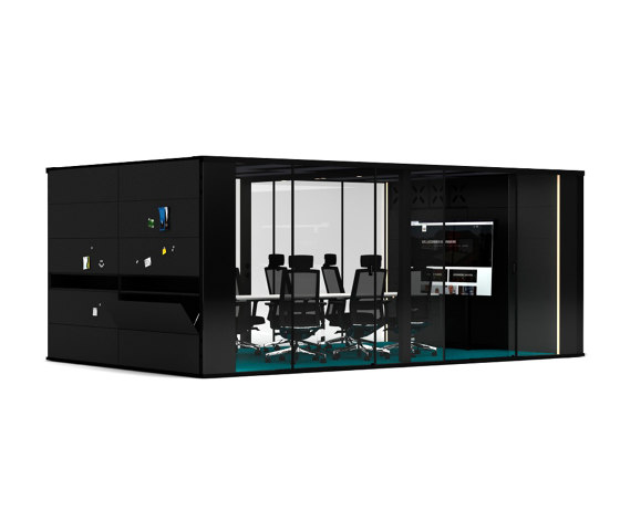 MasterPod® XL Konferenzraum by Inwerk   Room-in-room systems