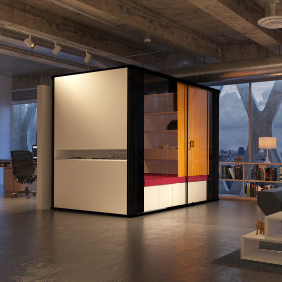 MasterPod® M Chill Room by Inwerk | Room-in-room systems