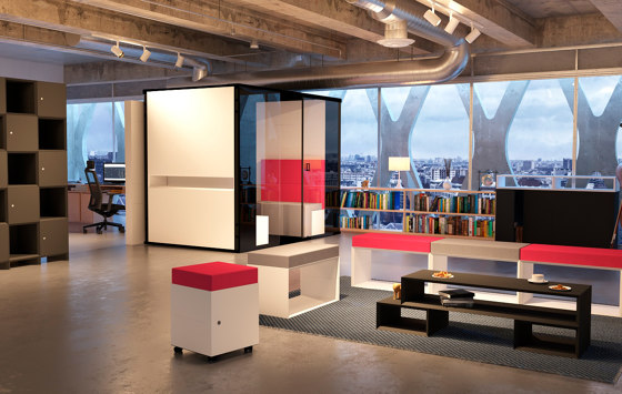 MasterPod® M Talk Room by Inwerk | Room-in-room systems