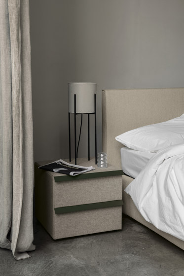 Oikos Night Table by Bolzan Letti | Night stands