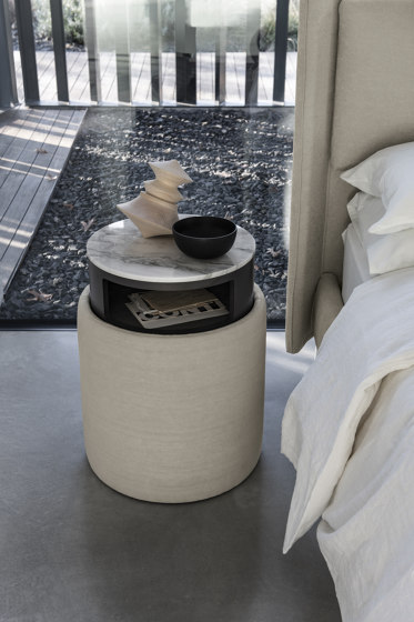 Pouf Ares by Bolzan Letti | Night stands