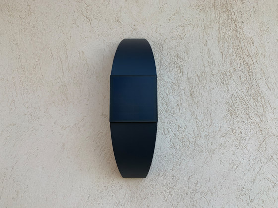 SOLAR wall lamp | Trait de lune by LYX Luminaires | Outdoor wall lights