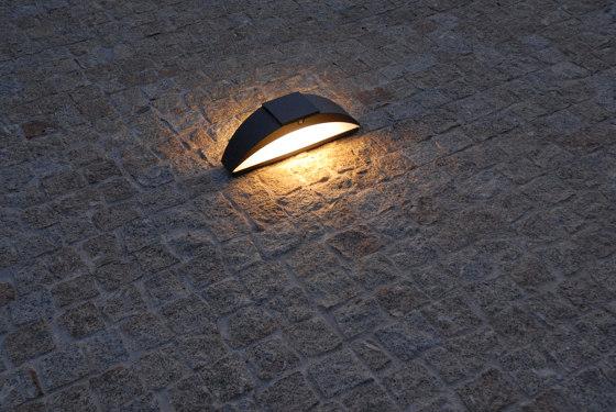 SOLAR pathway light | Trait de lune by LYX Luminaires | Outdoor floor-mounted lights