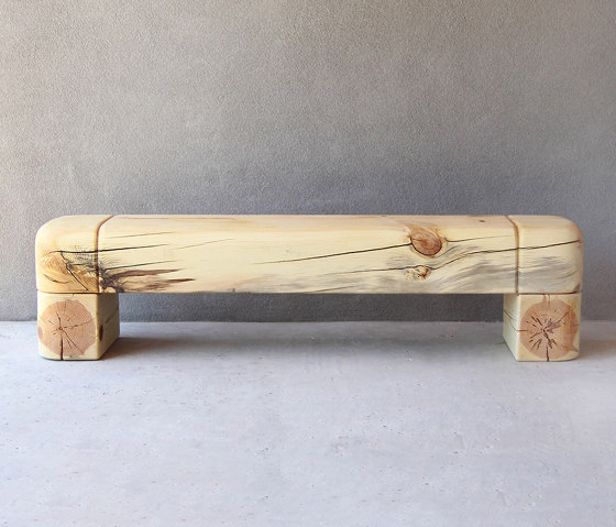 Tygo Solid Wood Bench by Pfeifer Studio | Benches