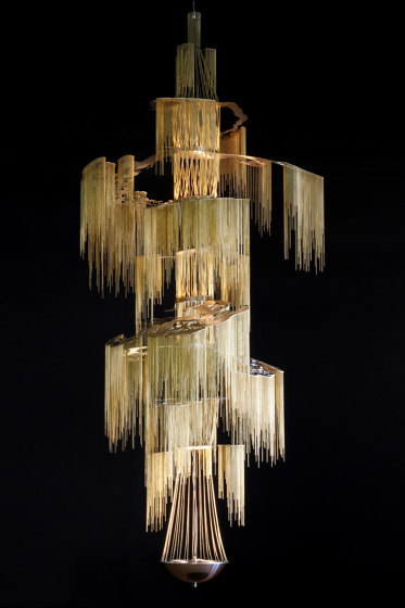 Enchanted Faraway Tree - 8 Tier - 1000 by Willowlamp   Suspended lights