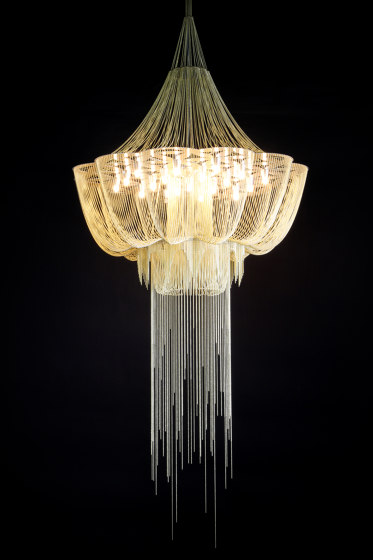 Flower of Life - 1000 - suspended by Willowlamp | Suspended lights