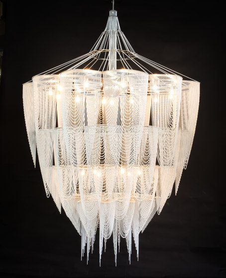 Protea - 1500 - suspended by Willowlamp | Suspended lights