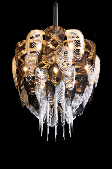Protea - 500 -  suspended by Willowlamp | Suspended lights