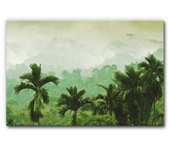 Sound Absorbing Acoustic Frame Motif Sumatra by Akustikbild | Wall art / Murals