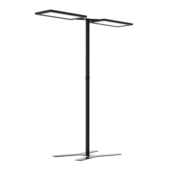 YARA.doubleT Free-Standing Luminaire by H. Waldmann | Free-standing lights