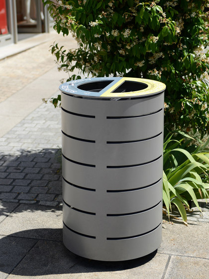 Waste sorting Amandine Bin by Univers et Cité | Waste baskets