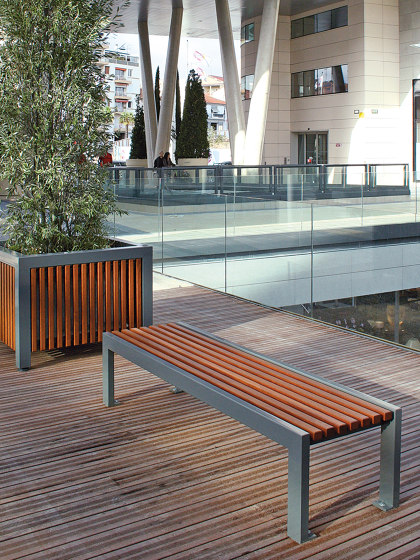 Cinéo Backless Bench by UNIVERS & CITÉ | Benches
