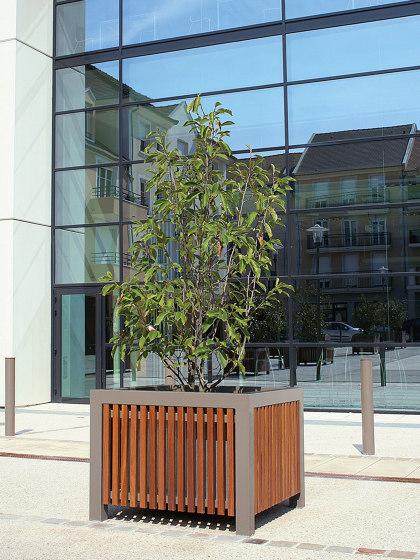 Cinéo Planter Square by UNIVERS & CITÉ | Plant pots