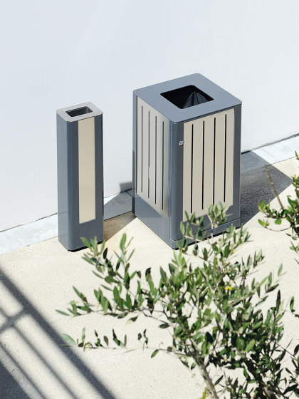 Fusion Bin & Ashtray by UNIVERS & CITÉ | Waste baskets