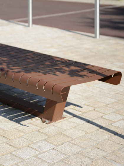 Lia Backless Bench by UNIVERS & CITÉ | Benches