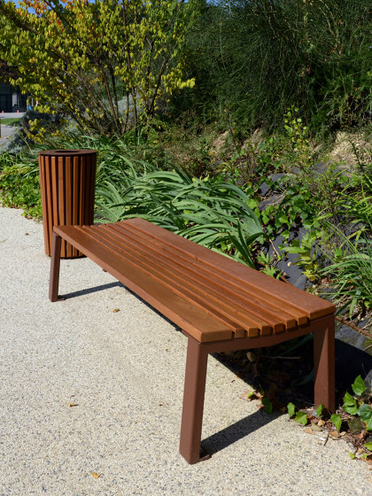 Nuance Backless-Bench by UNIVERS & CITÉ | Benches
