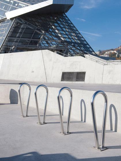 Oméga Bike Rack by UNIVERS & CITÉ | Bicycle stands