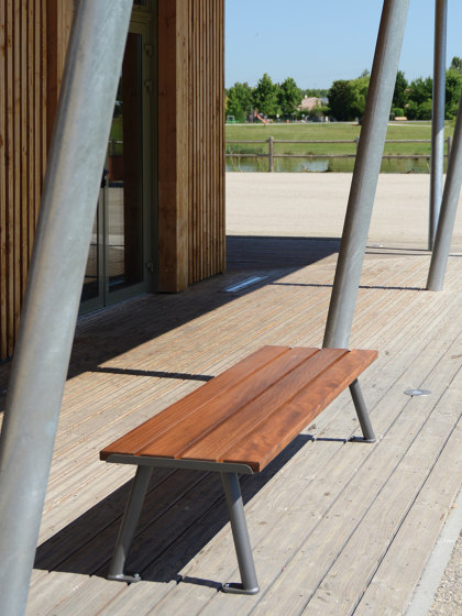 Oria Backless Bench by UNIVERS & CITÉ   Benches