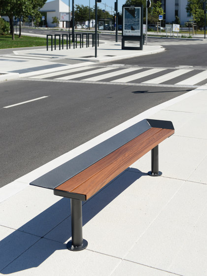 Oria Backless Bench by UNIVERS & CITÉ | Benches