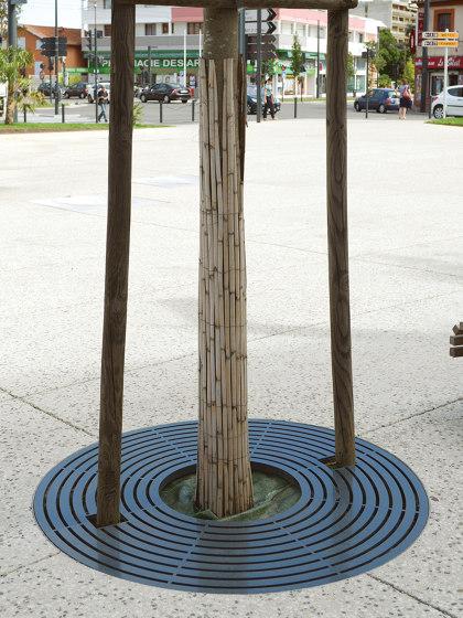 Synergie Tree Grates by Univers et Cité | Tree grates / Tree grilles