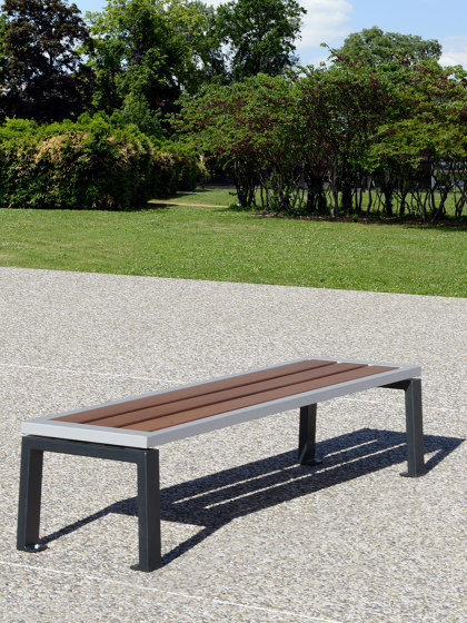 Zéo Backless Bench by UNIVERS & CITÉ | Benches