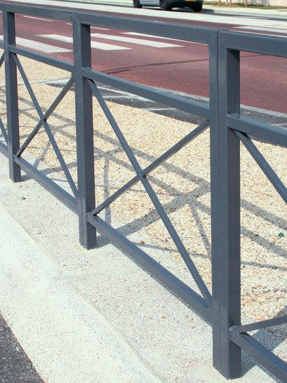 Zéo Barrier by UNIVERS & CITÉ | Railings / Balustrades