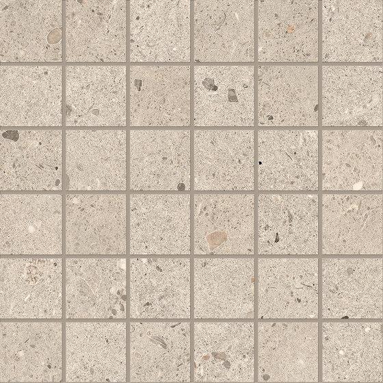 Ego Mosaico 5x5 Sabbia by EMILGROUP | Ceramic mosaics
