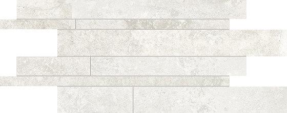 Heritage Listelli Sfalsati IVORY by EMILGROUP | Ceramic mosaics