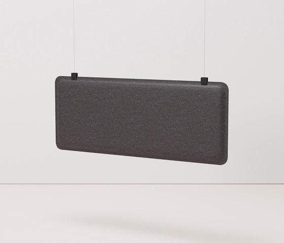 AK 3 Hanging Workplace Divider by De Vorm | Sound absorbing room divider