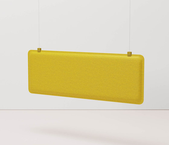 AK 4 Horizontal Hanging Panel by De Vorm | Sound absorbing suspended panels
