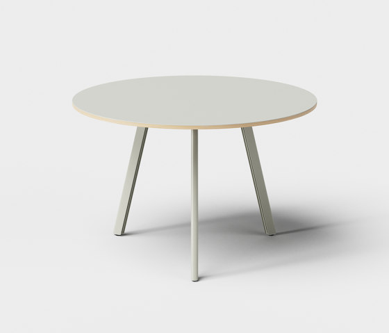 Big Lite Round 110 Modular Table System by De Vorm | Dining tables