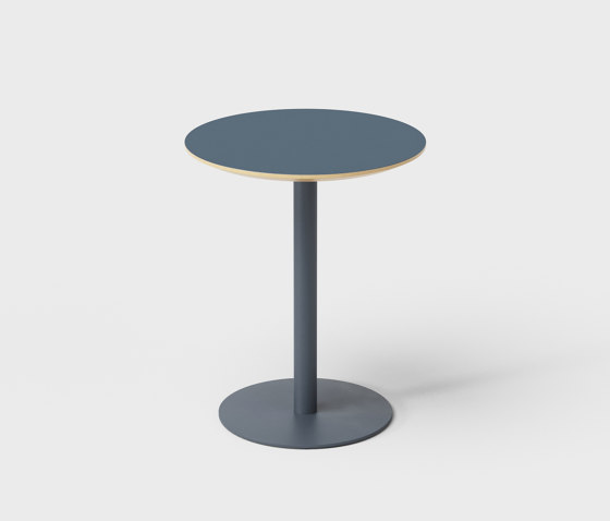 Column Table Round 60 by De Vorm | Side tables