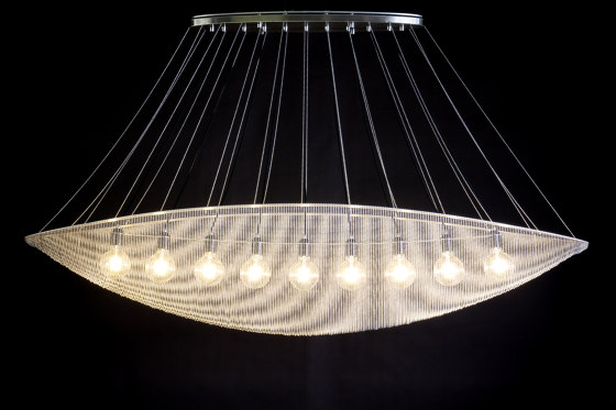 Cocoon -1750 - Suspended by Willowlamp | Suspended lights