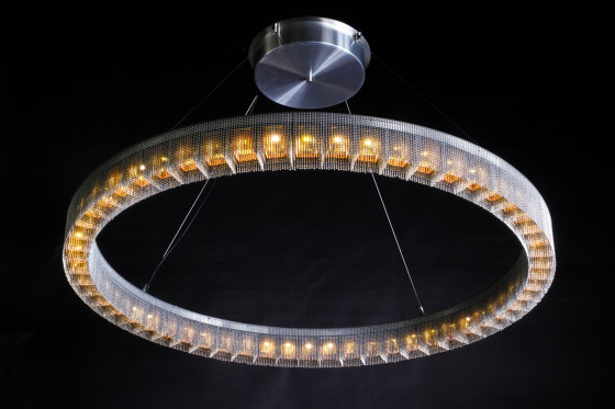 Radial - 1200mmD - Suspended by Willowlamp | Suspended lights