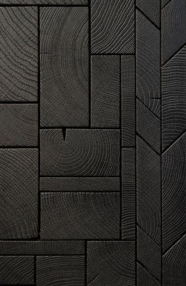 FORÊT MIX BLACK by Oscarono | Wood panels