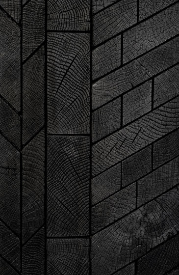 FORÊT MIX BURNT by Oscarono | Wood panels