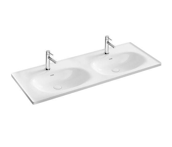 Equal Double Vanity Washbasin by VitrA Bathrooms | Wash basins
