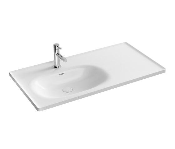 Equal Vanity Washbasin by VitrA Bathrooms | Wash basins