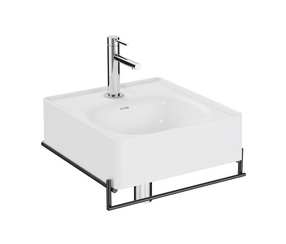 Equal Washbasin Unit by VitrA Bathrooms | Towel rails