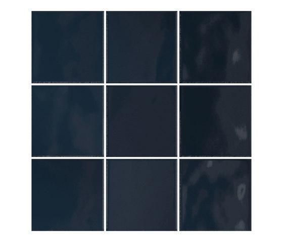 Retromix 10x10 Retromix Tile Saphir Blue Glossy by VitrA Bathrooms | Ceramic tiles