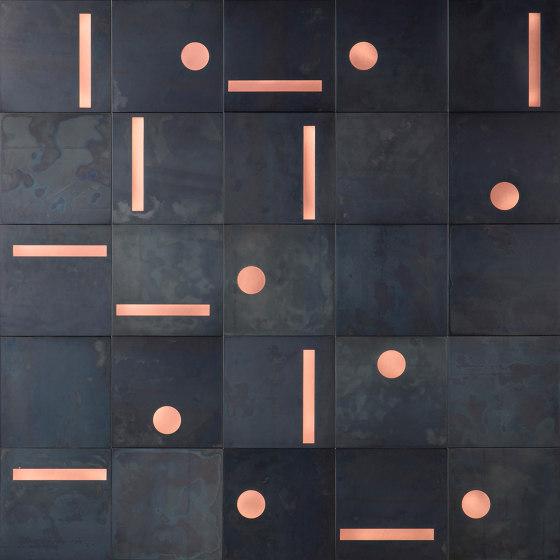 Yoko 02 by De Castelli | Metal tiles