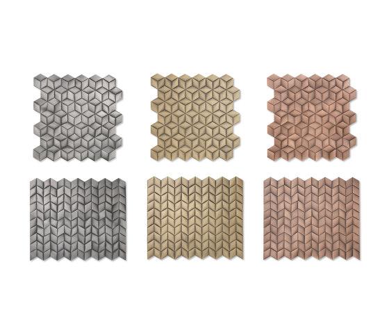 Losanga de De Castelli | Mosaïques métal