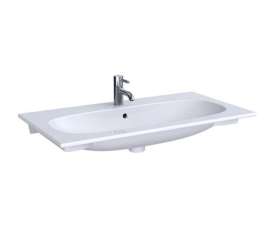 Acanto | washbasin SlimRim by Geberit | Wash basins