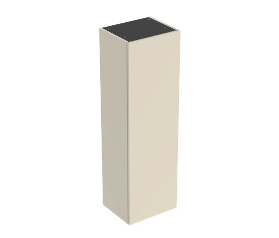 Smyle | semi tall cabinet sand grey by Geberit | Freestanding cabinets