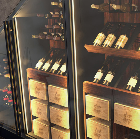 Tailored by ESIGO | Display cabinets