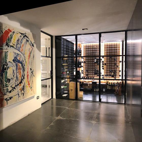 Residential wine room by ESIGO | Cabinets