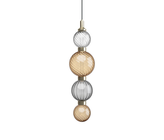 Drop Bronze Ceiling Lamp 1 by SICIS   Suspended lights